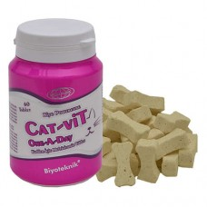 BİYOTEKNİK POWERCURE CAT-VİT ONE A DAY KEDİLER İÇİN MULTİVİTAMİN 60 TABLET