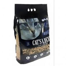 CAT'S LUCKY TOPAKLANAN DOĞAL ÇAM PELETİ KEDİ KUMU 3.300 GR