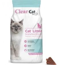 CLEAR CAT PUDRA KOKULU 10 KG KEDİ KUMU