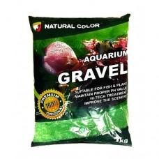NATUREL COLOR AQUARIUM GRAVEL 1 KG YEŞİL AKVARYUM KUMU